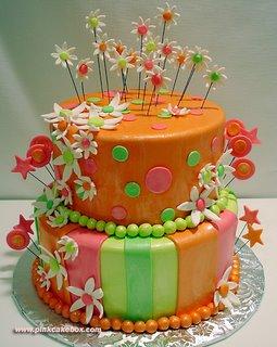 کیک تولد سارا